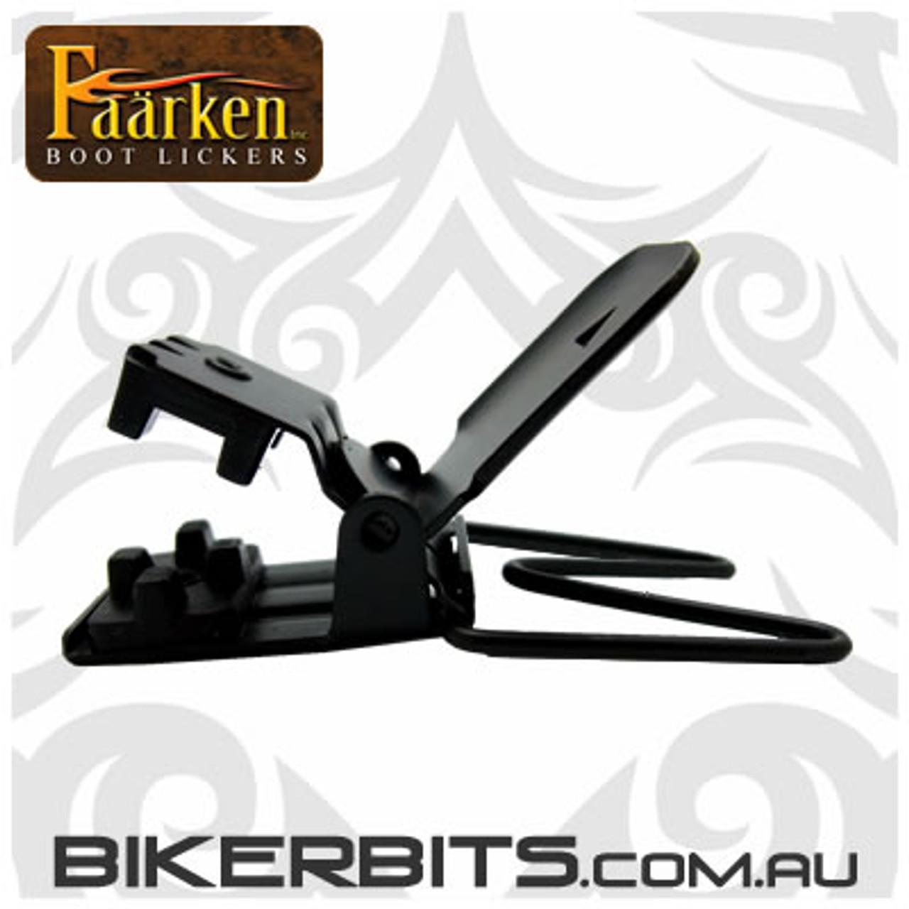 Faarken Biker Boot Lickers - Tribal - Black