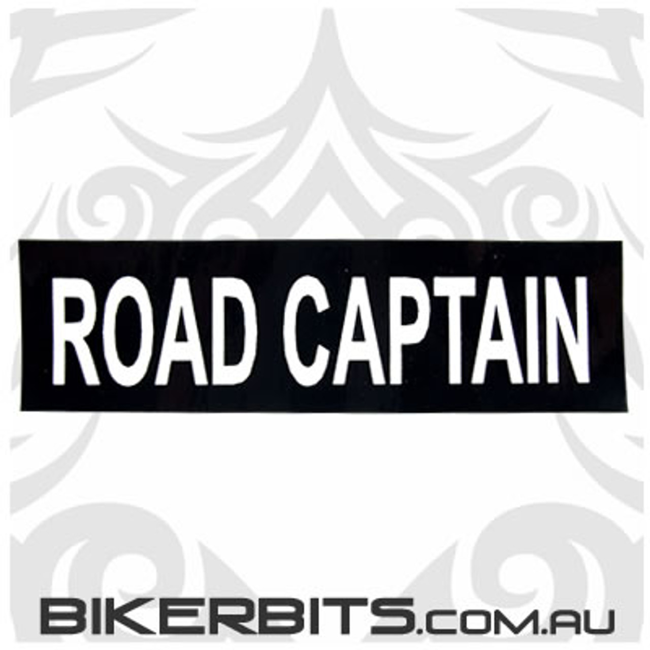 Helmet Sticker - Road Captain