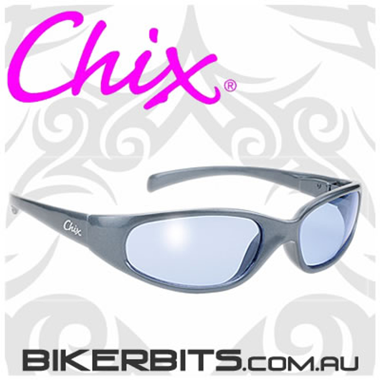 Motorcycle Sunglasses - Chix Heavenly - Blue/Blue