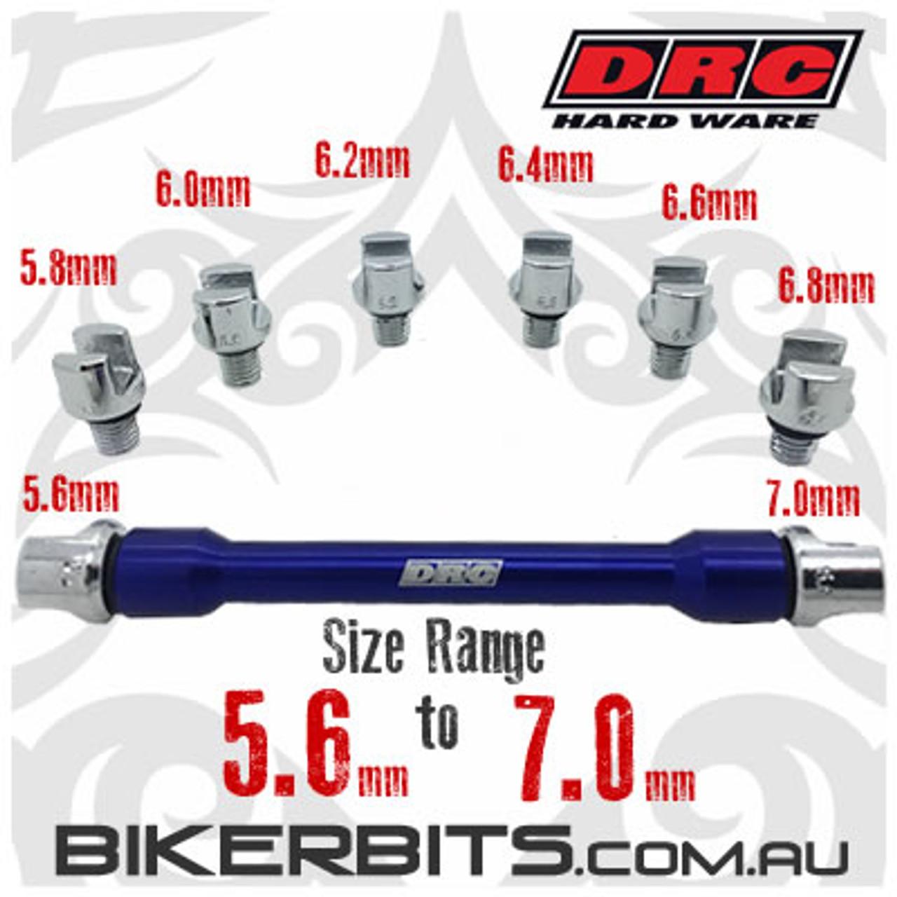 DRC - Pro Spoke Wrench Tool - Large Range