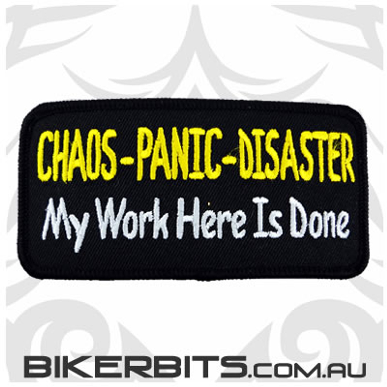 Patch - Chaos Panic Disaster My Work Here Is Done
