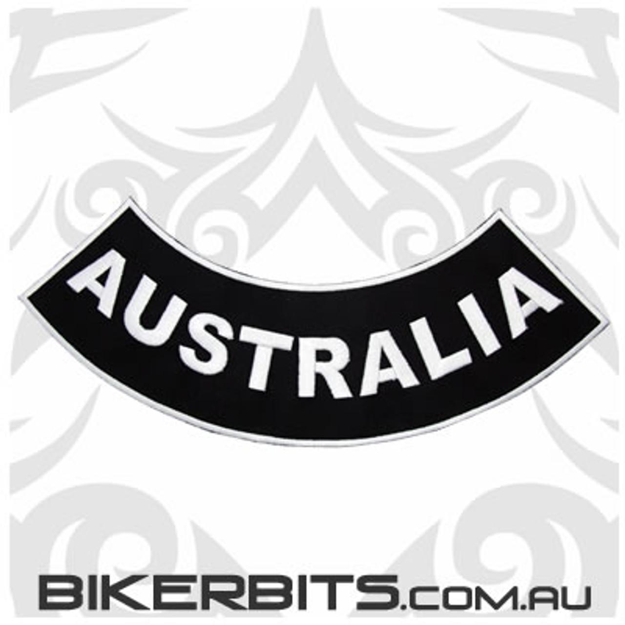 Patch - Biker Club Rocker - Australia