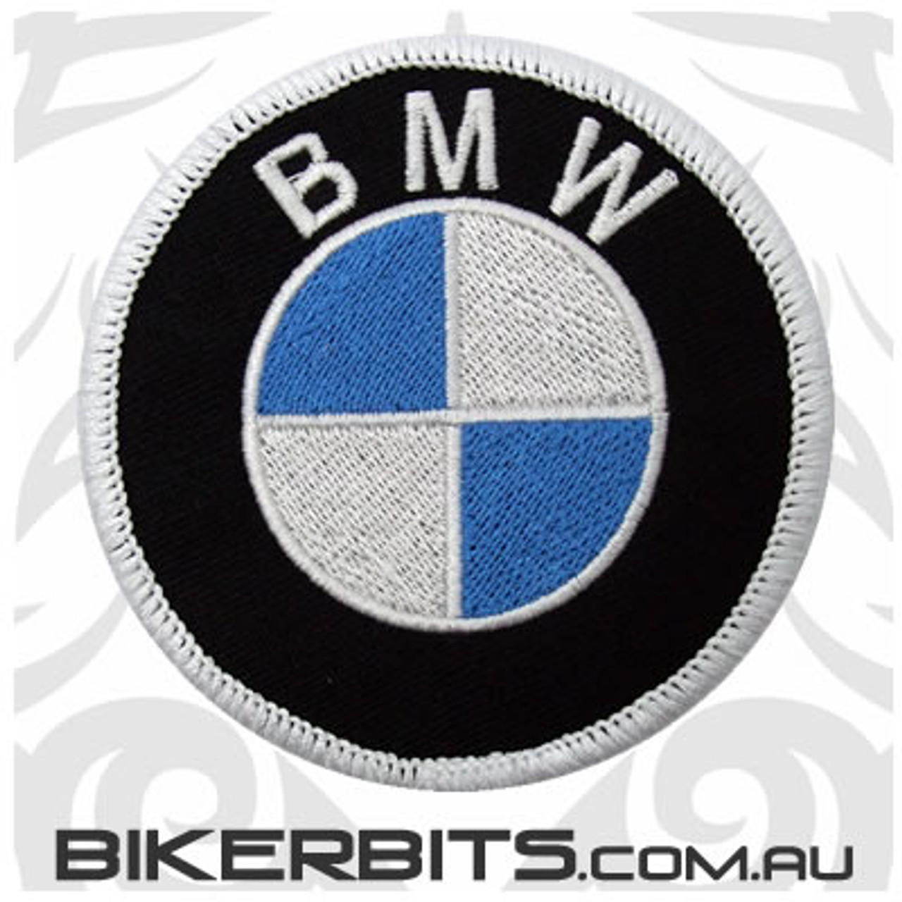 Patch - BMW Motorcycle Logo - Round