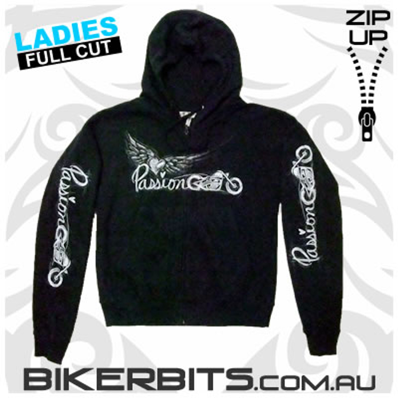 Biker Hoodie - Passion