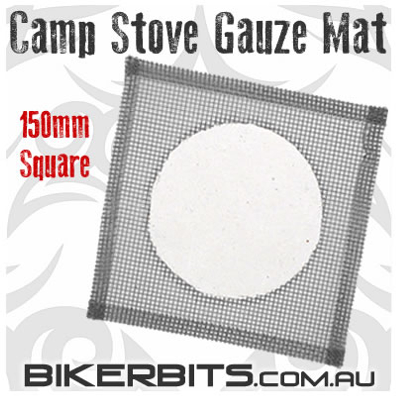 Camp Stove Ceramic Gauze Mat - 150