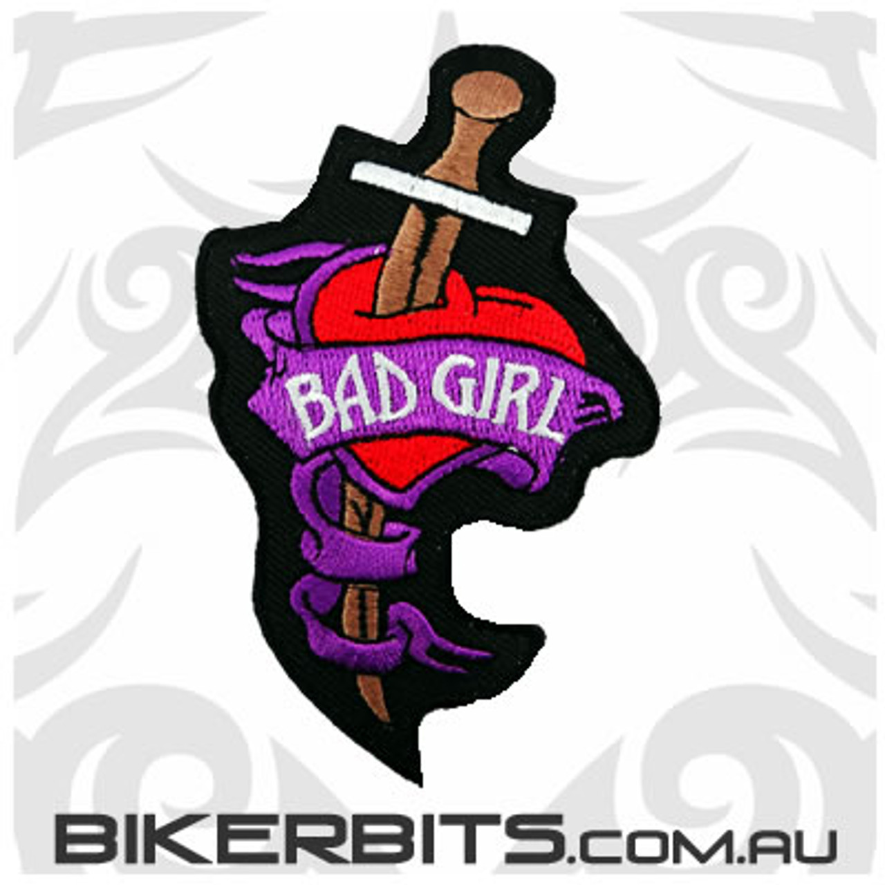 Patch - Bad Girl - Knife in Heart