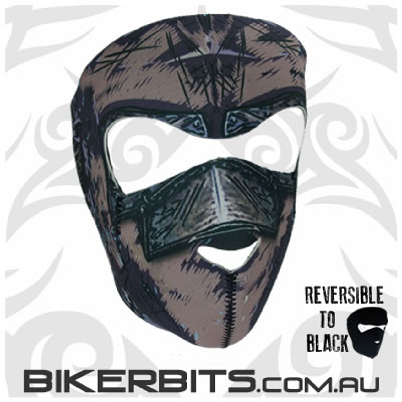 Headwear - Neoprene Full Face Mask - Iron Mask