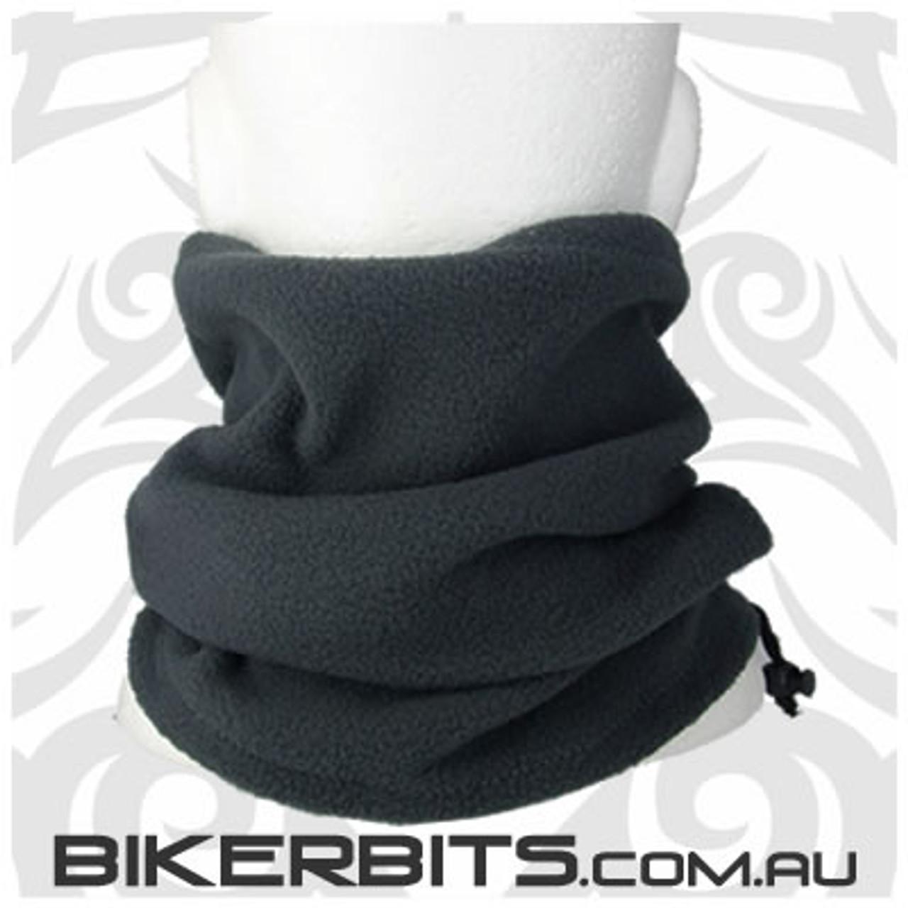 Headwear - Fleece Neck Warmer - Single Layer - Dark Grey