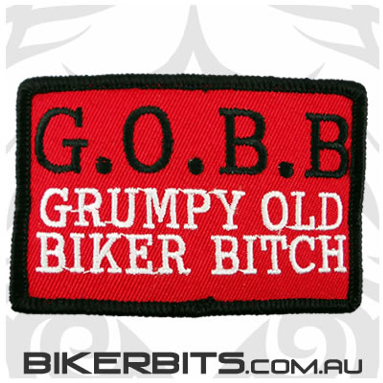 Patch - G.O.B.B Grumpy Old Biker Bitch