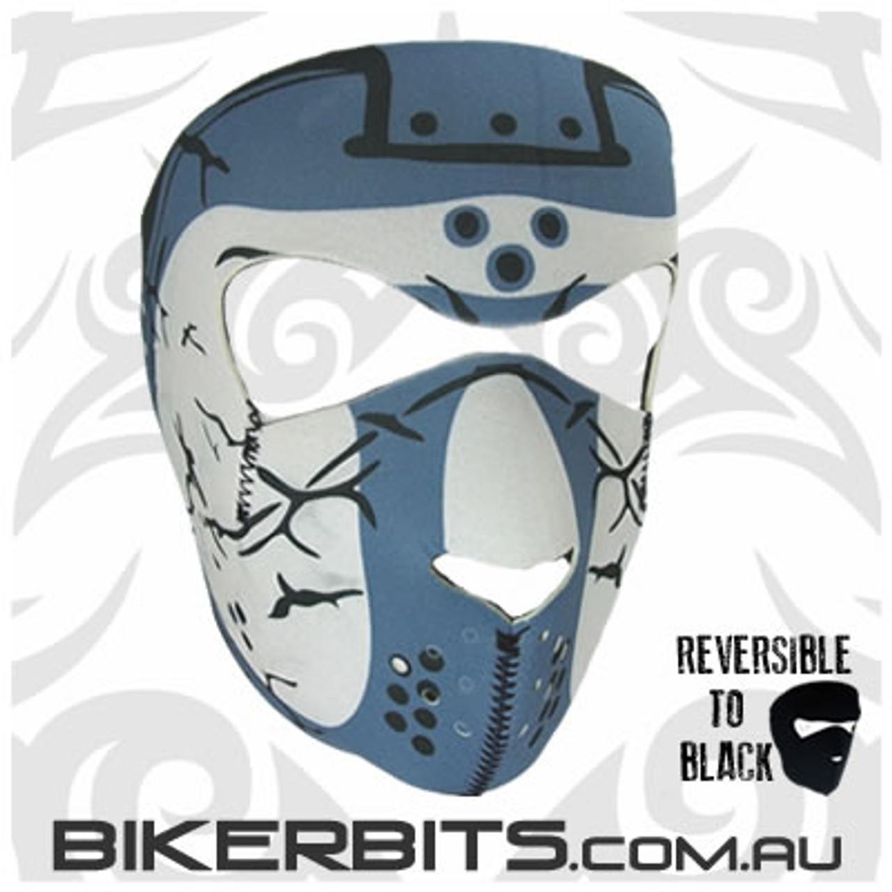 Headwear - Neoprene Full Face Mask - Hockey Mask