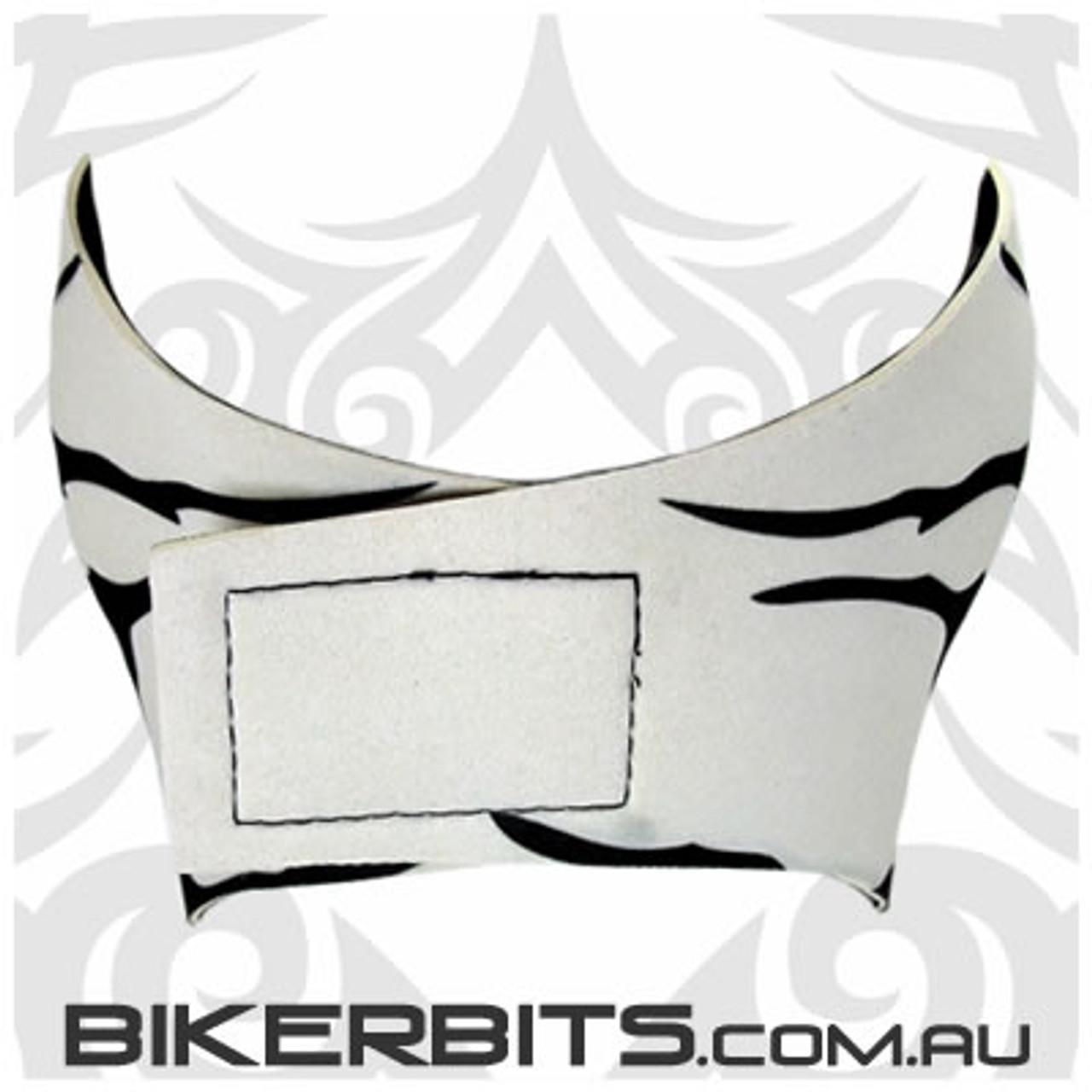 Headwear - Neoprene Full Face Mask - White Skull