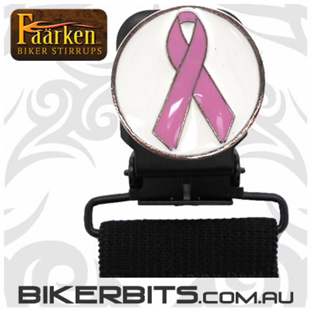 Faarken Biker Stirrups - Awareness