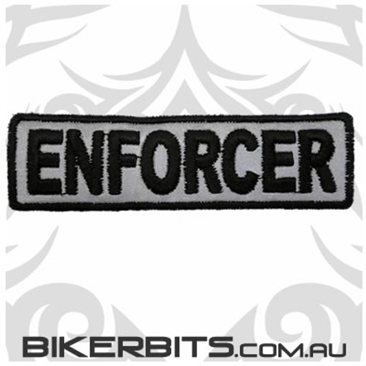 Patch - Biker Club ENFORCER - Reflective