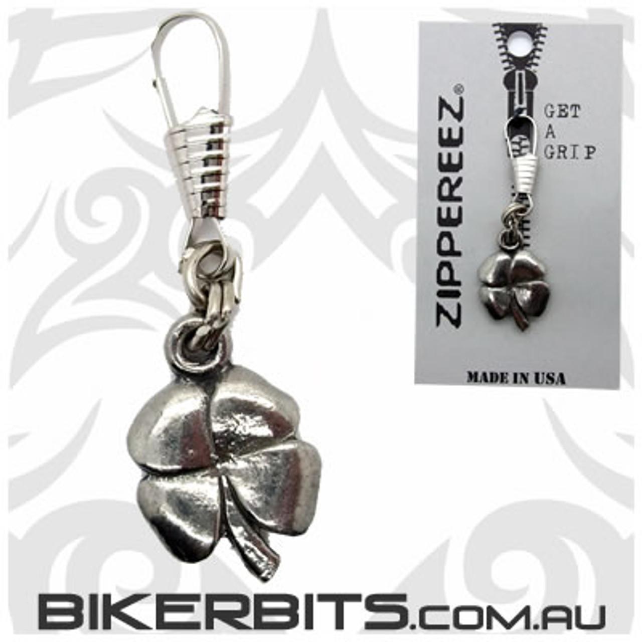 Zippereez Zipper Pull - Four Leaf Clover