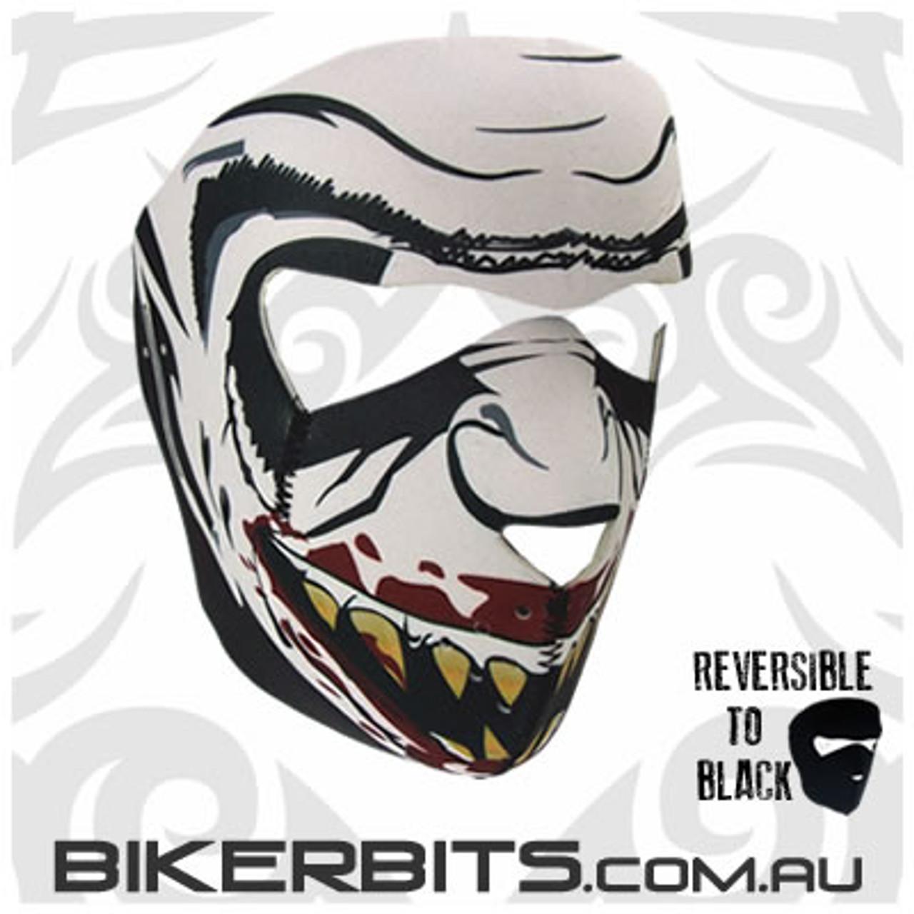 Headwear - Neoprene Full Face Mask - Vampire