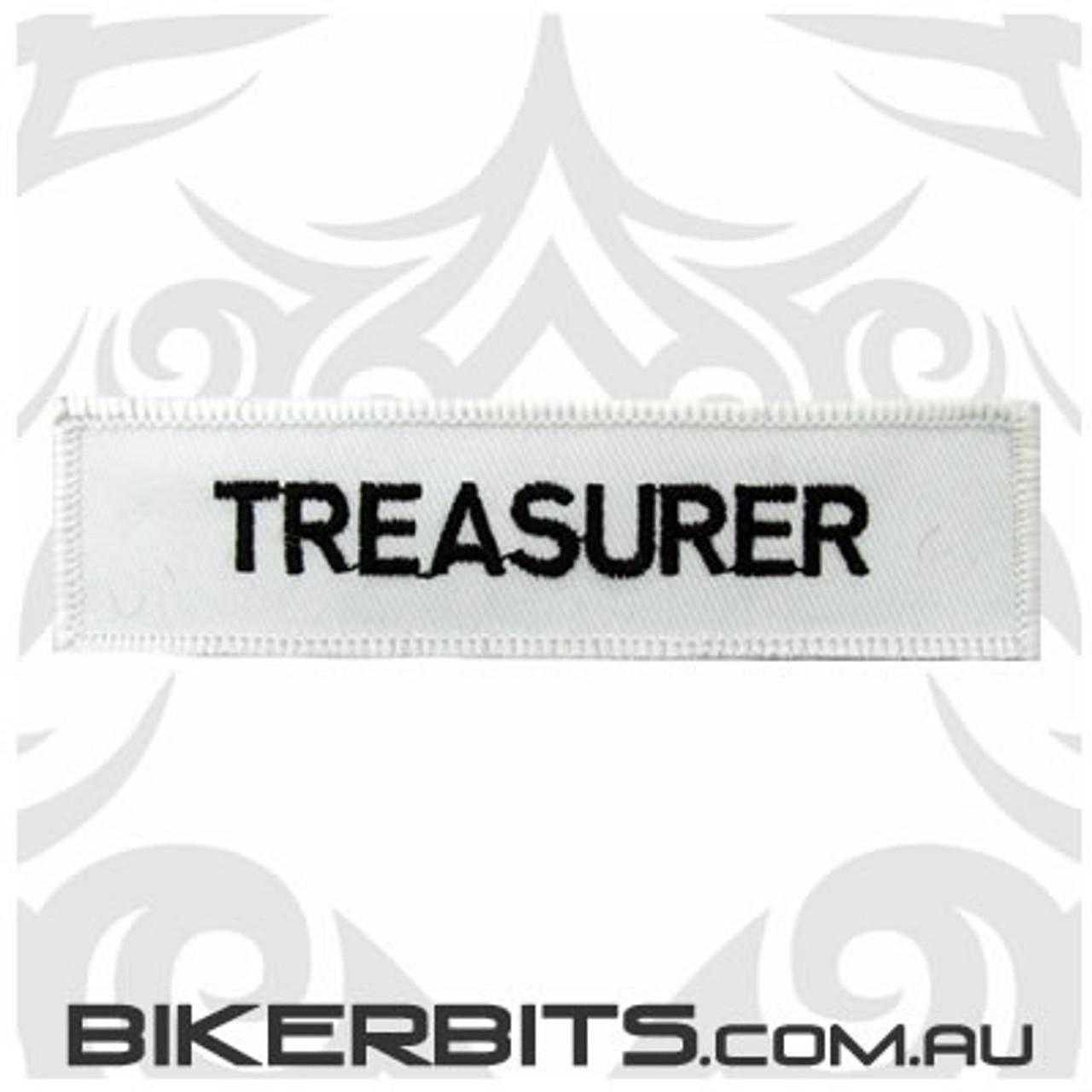 Patch - Biker Club TREASURER 2