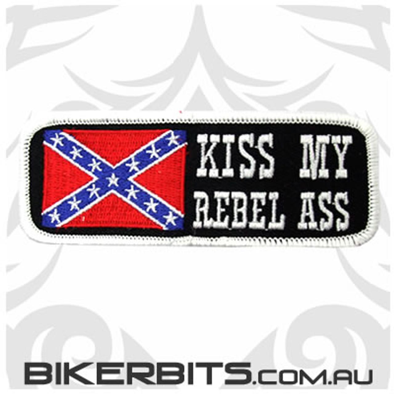 Patch - Kiss My Rebel Ass