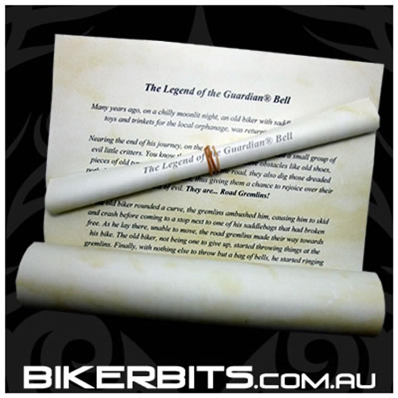 Guardian Bell - Biker Angel