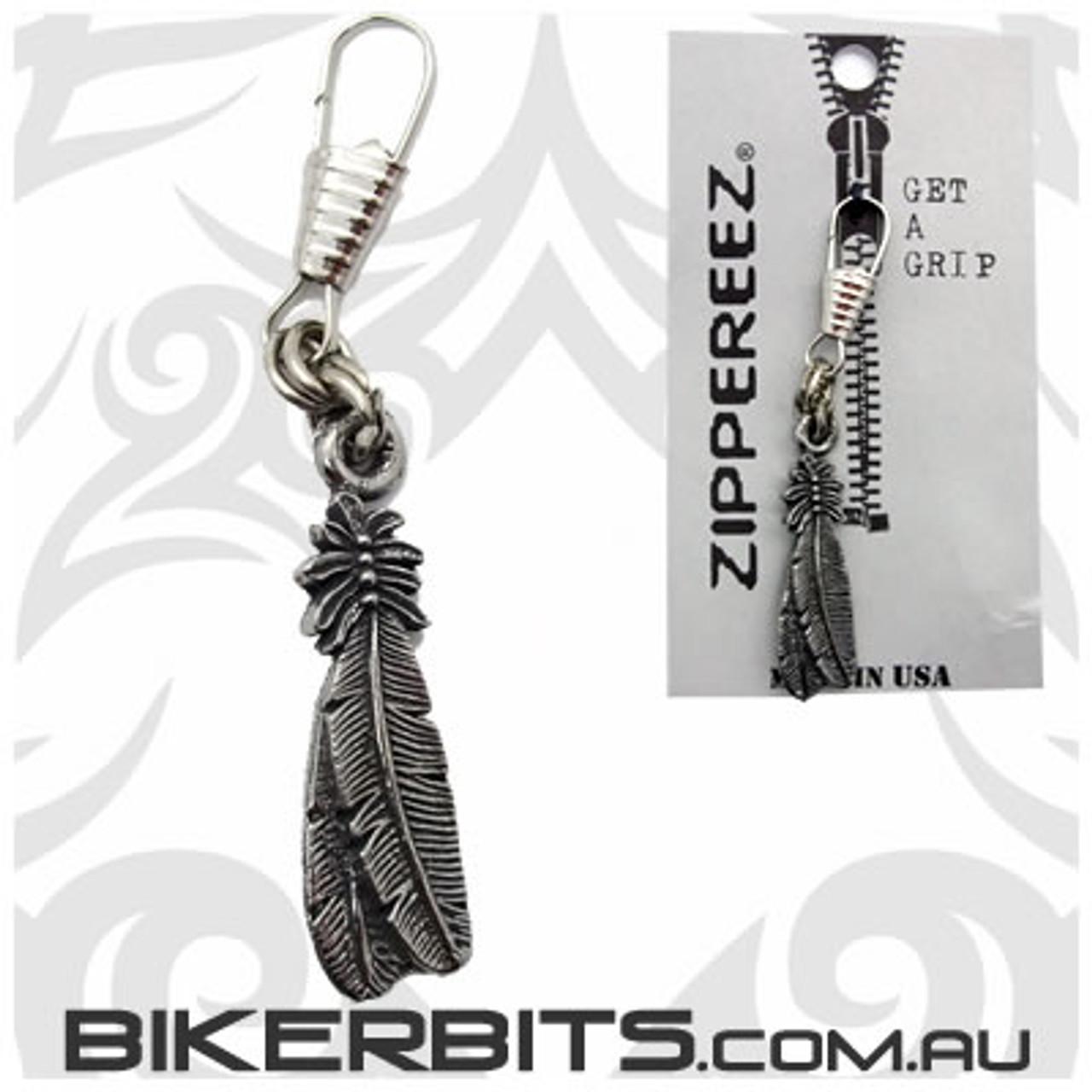 Zippereez Zipper Pull - Feathers