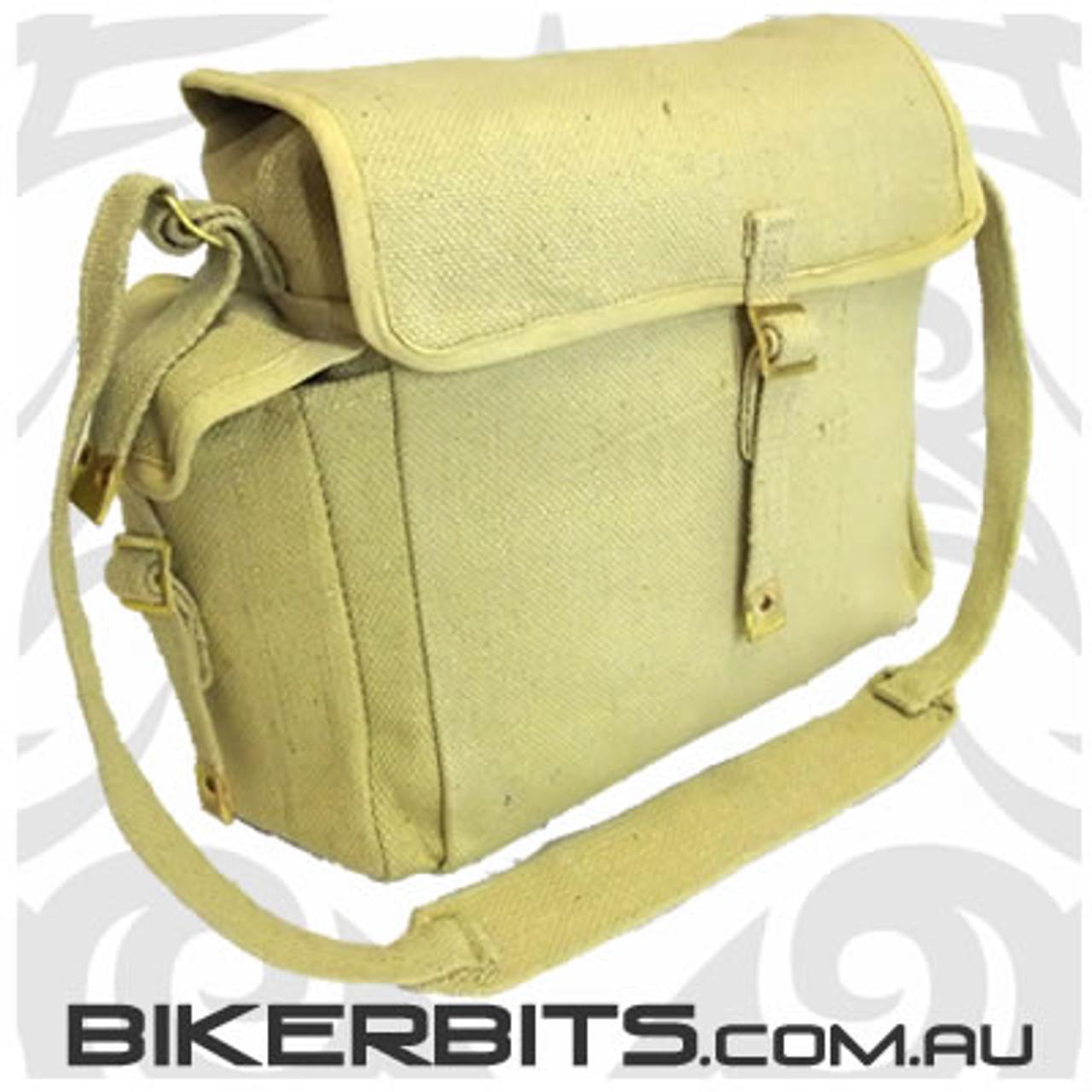 Messenger Bag with Bottle Holders - Khaki
