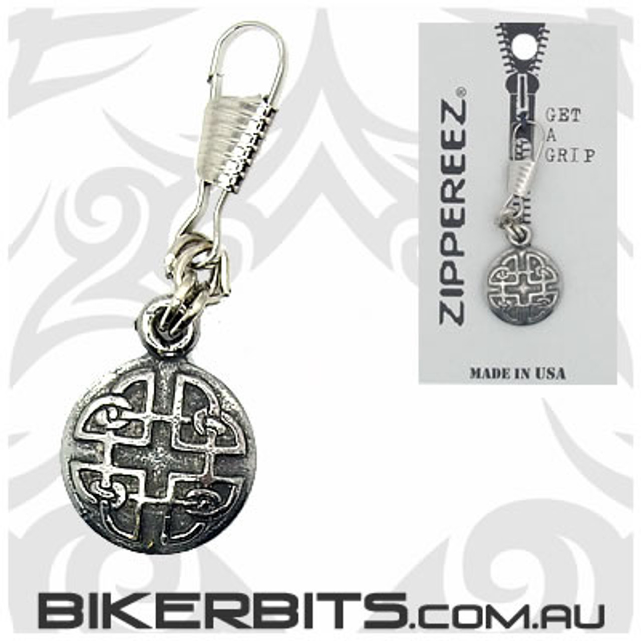 Zippereez Zipper Pull - Celtic Knot - Round