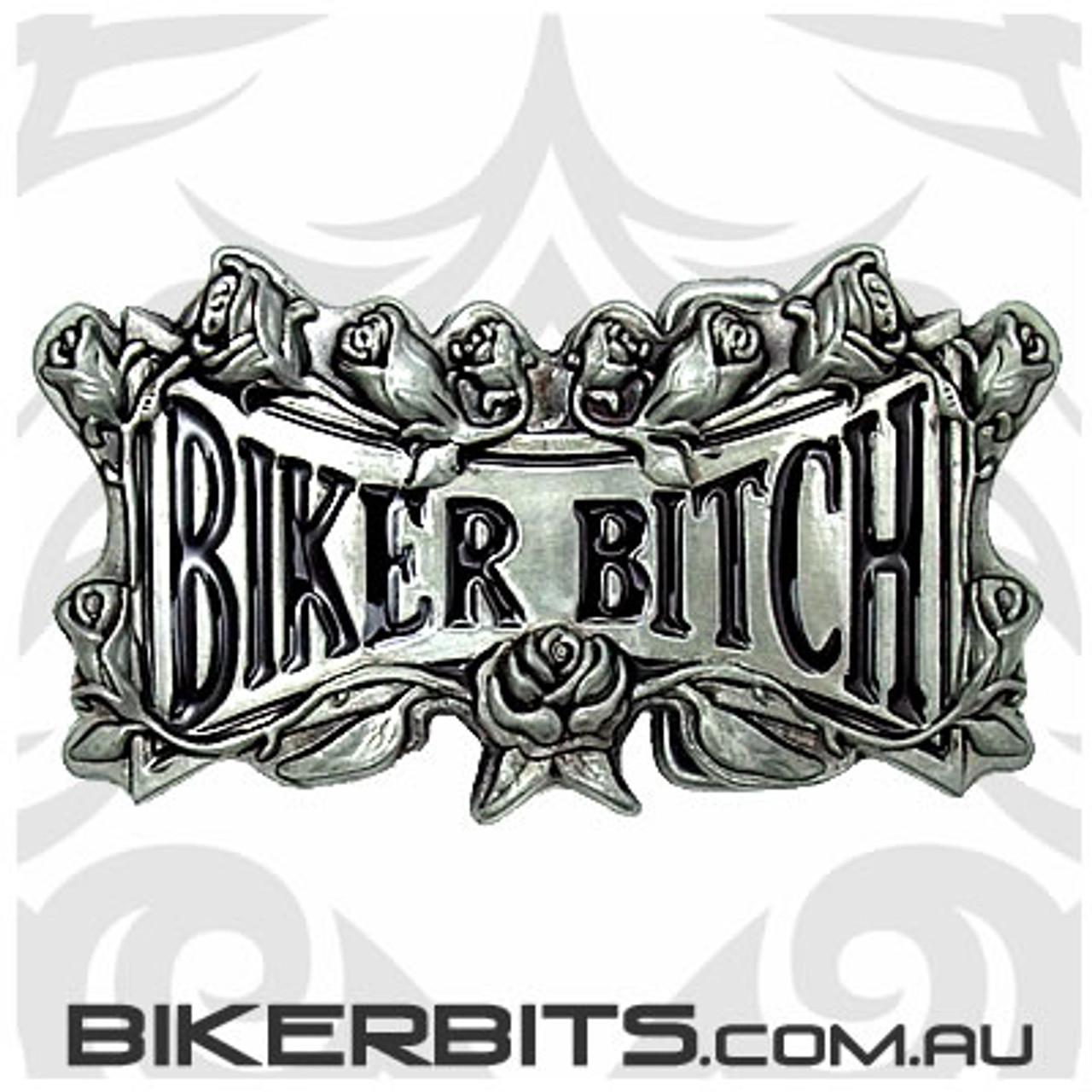 Belt Buckle - Biker Bitch
