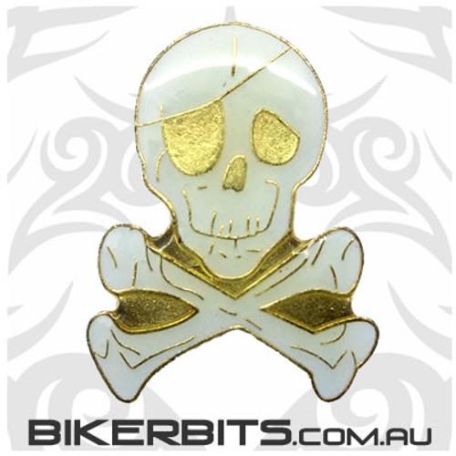 Lapel Pin - Skull and Crossbones