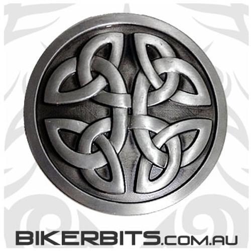 Belt Buckle - Round Celtic Knot