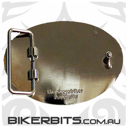 Belt Buckle - Eureka & Australia Flags
