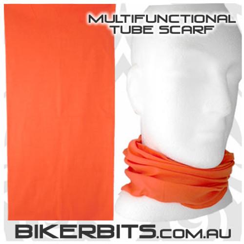 Headwear - Multifunctional Tube Scarf - Orange