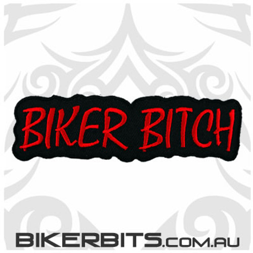 Patch - Biker Bitch