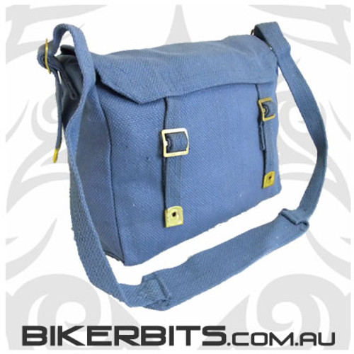 Classic Messenger Bag - Small - Blue