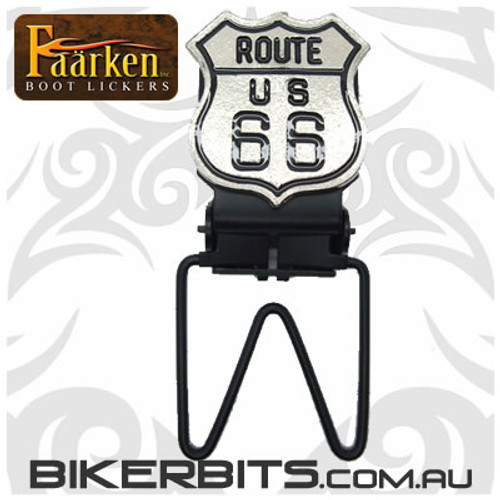 Faarken Biker Boot Lickers - Route 66
