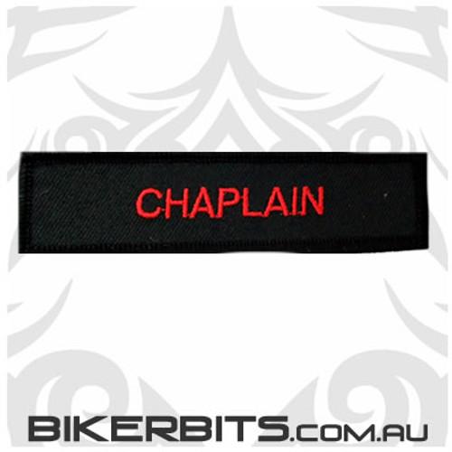 Patch - Biker Club CHAPLAIN 2