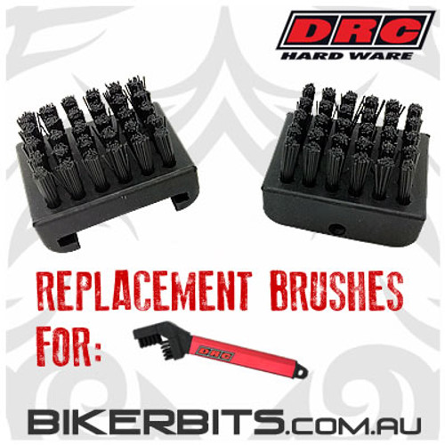 DRC - Motorcycle Chain Cleaning Replacement Brushes