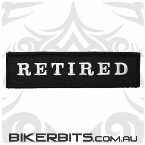 Patch - Biker Club RETIRED 1