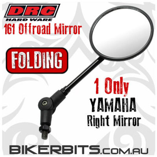DRC - 161 Offroad Folding Mirror - YAMAHA RIGHT