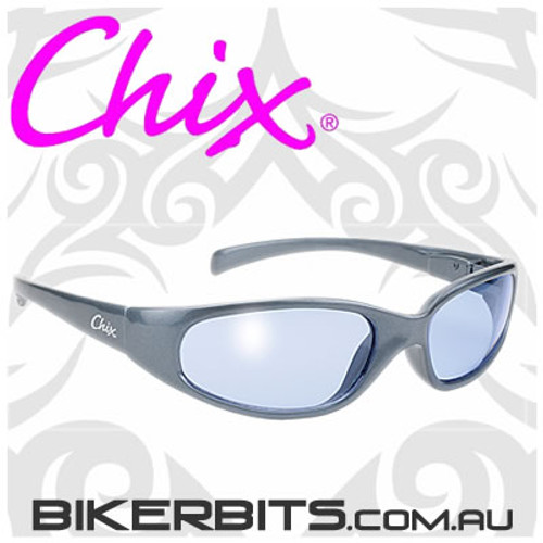 Motorcycle Sunglasses - Chix Heavenly - Blue/Blue