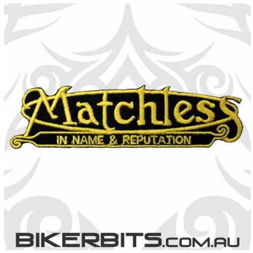 Patch - Matchless in Name and Reputation