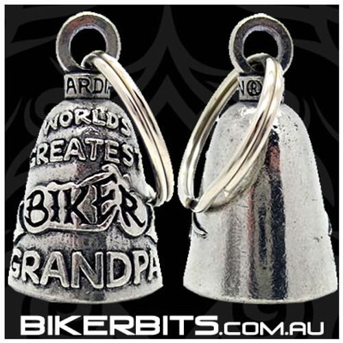 Guardian Bell - Biker Grandpa