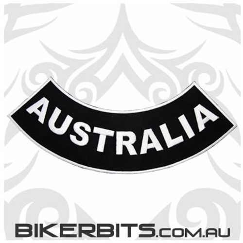 Patch - Biker Club Rocker - Australia