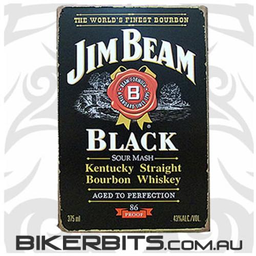 Tin Signs - Jim Beam Black Label