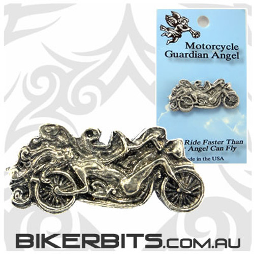 Lapel Pin - Lady as a Motorcycle