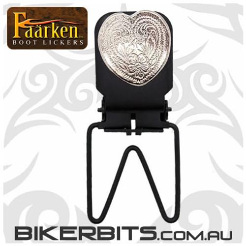 Faarken Biker Boot Lickers - Small Heart