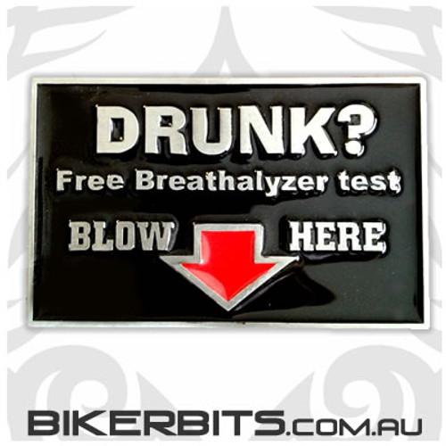 Belt Buckle - Drunk?