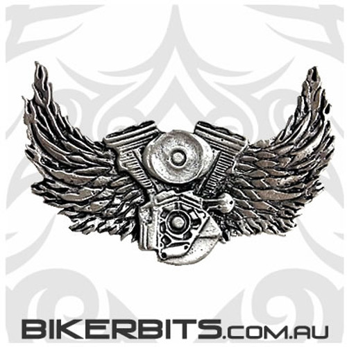 Lapel Pin - Asphalt Angel - Upwings