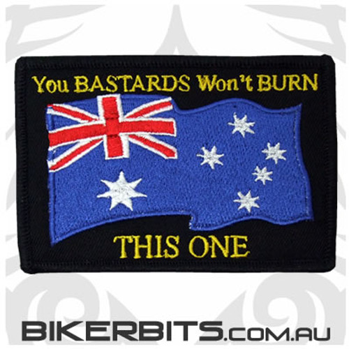 Patch - You BASTARDS Won't BURN THIS ONE