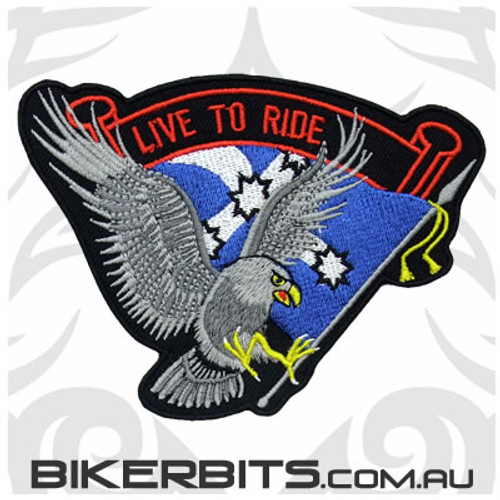 Patch - Live to Ride - Eureka