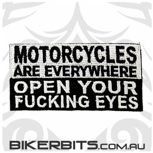 Patch - Motorcycles Are Everywhere