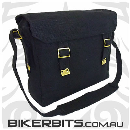 Classic Messenger Bag - Regular - Black